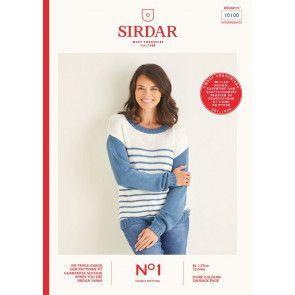 Sweater in Sirdar No.1 DK (10100)