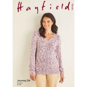 Sweater in Hayfield Journey DK (10102)