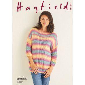 Sweater in Hayfield Spirit DK (10104)