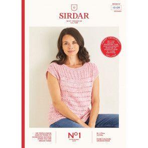 Top in Sirdar No.1 Stonewashed Aran (10109)