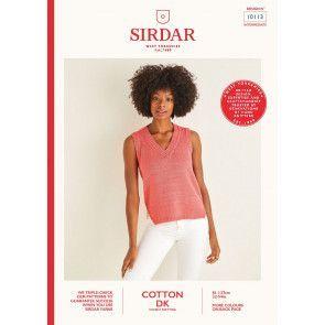 Top in Sirdar Cotton DK (10113)