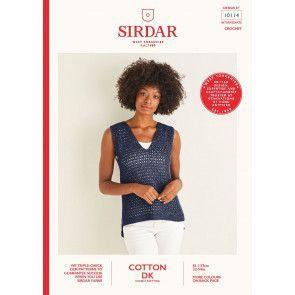 Top in Sirdar Cotton DK (10114)