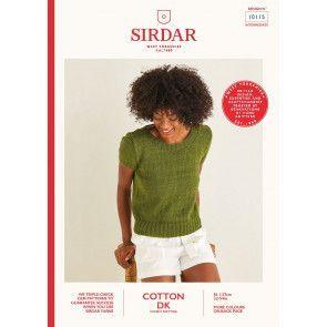Top in Sirdar Cotton DK (10115)