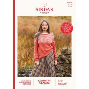 Sweater in Sirdar Country Classic 4 Ply (10131)