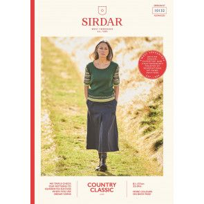 Top in Sirdar Country Classic 4 Ply (10132)