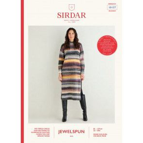 Dress in Sirdar Jewelspun (10137)