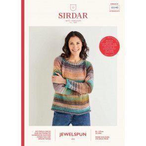 Sweater in Sirdar Jewelspun (10140)