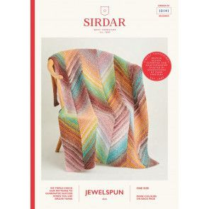 Blanket in Sirdar Jewelspun (10141)