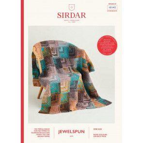 Blanket in Sirdar Jewelspun (10142)