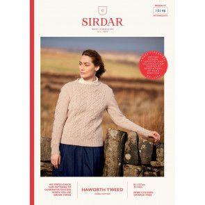 Sweater in Sirdar Haworth Tweed (10146)