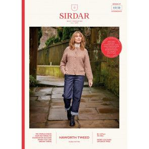 Cardigan in Sirdar Haworth Tweed (10150)