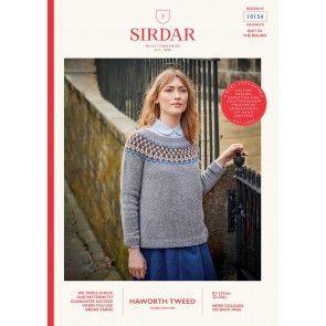Sweater in Sirdar Haworth Tweed (10154)