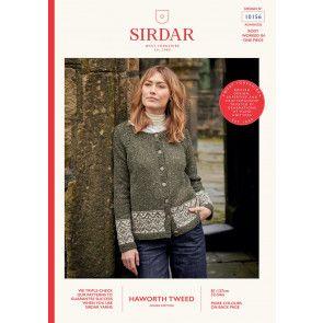 Cardigan in Sirdar Haworth Tweed (10156)