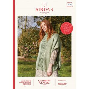 Poncho in Sirdar Country Classic Worsted (10163)