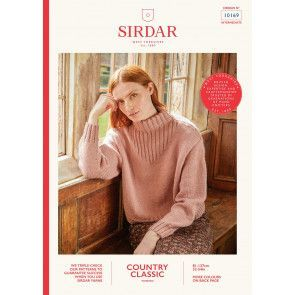 Sweater in Sirdar Country Classic Worsted (10169)