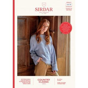 Sweater in Sirdar Country Classic Worsted (10170)