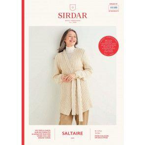 Cardigan in Sirdar Saltaire (10180)
