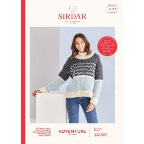 Sweater n Sirdar Adventure Super Chunky  (10184)