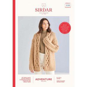 Cardigan in Sirdar Adventure Super Chunky  (10185)