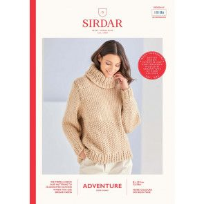 Sweater in Sirdar Adventure Super Chunky  (10186)