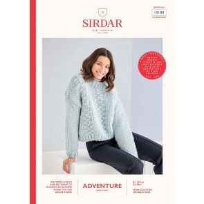 Sweater in Sirdar Adventure Super Chunky  (10188)