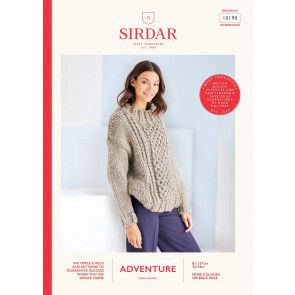 Sweater in Sirdar Adventure Super Chunky  (10190)