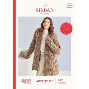 Cardigan in Sirdar Adventure Super Chunky  (10192)