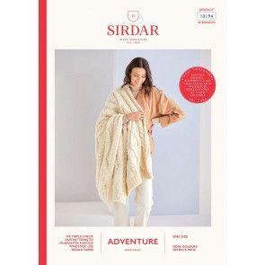 Blanket in Sirdar Adventure Super Chunky  (10194)