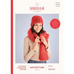 Scarf and in Sirdar Adventure Super Chunky  (10195)