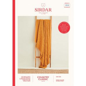 Blanket in Sirdar Country Classic Worsted (10232)