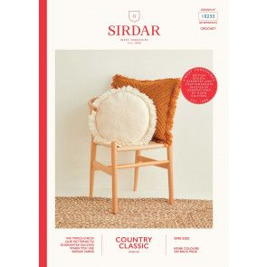 Cushions in Sirdar Country Classic Worsted (10233)