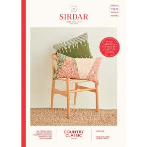 Cushions in Sirdar Country Classic Worsted (10234)