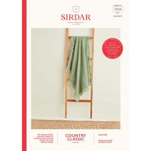 Blanket in Sirdar Country Classic Worsted (10236)