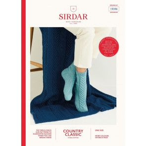 Blanket and Socks in Sirdar Country Classic DK (10306)