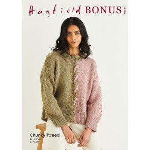 Sweater in Hayfield Bonus Chunky Tweed (10341)