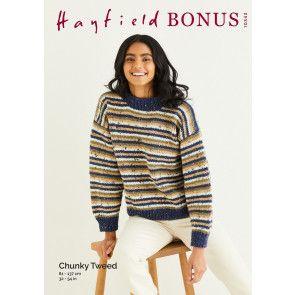 Sweater in Hayfield Bonus Chunky Tweed (10343)