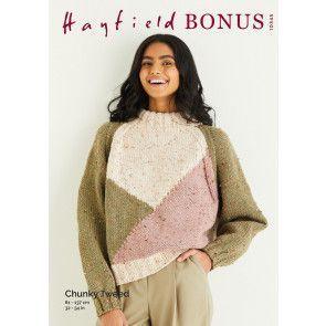 Sweater in Hayfield Bonus Chunky Tweed (10345)