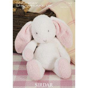 Bunny in Sirdar Snowflake DK (1243)