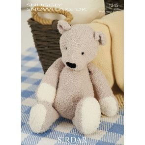 Bear in Sirdar Snowflake DK (1245)