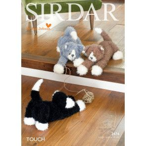 Cats in Sirdar Touch (2474)
