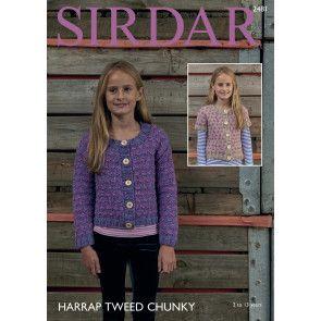 Cardigans in Sirdar Harrap Tweed Chunky (2481)