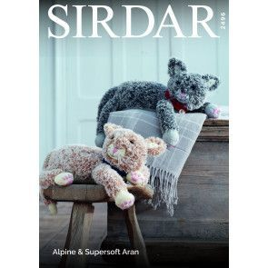 Cats in Sirdar Alpine and Supersoft Aran (2946)