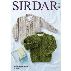 Sweaters in Sirdar Supersoft Aran (2505)