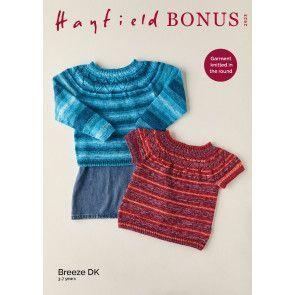 Sweaters in Hayfield Bonus Breeze DK (2523)