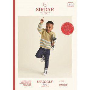 Jumper in Sirdar Snuggly Replay DK (2527)