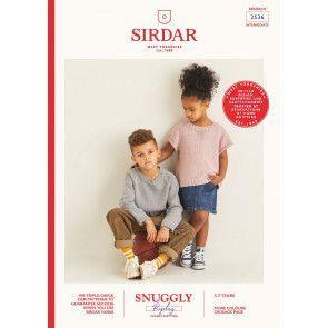 Sweaters in Sirdar Snuggly Replay DK (2536)