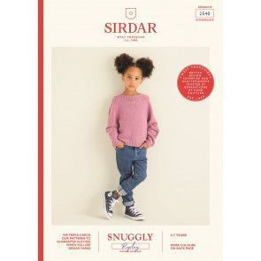Sweater in Sirdar Snuggly Replay (2540)