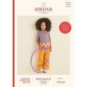 Sweater in Sirdar Snuggly Replay DK (2545)