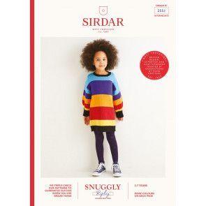 Dress in Sirdar Snuggly Replay DK (2551)