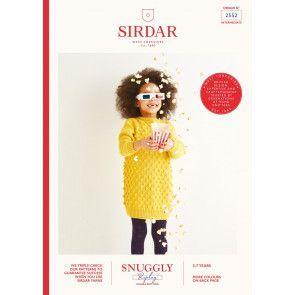 Dress in Sirdar Snuggly Replay DK (2552)